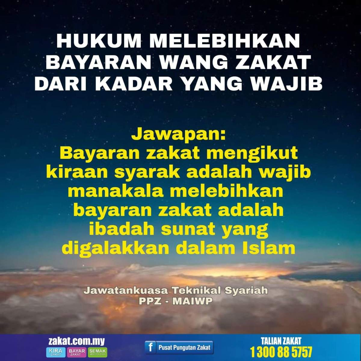 Overpaying of Zakat from the RequiredAmount.