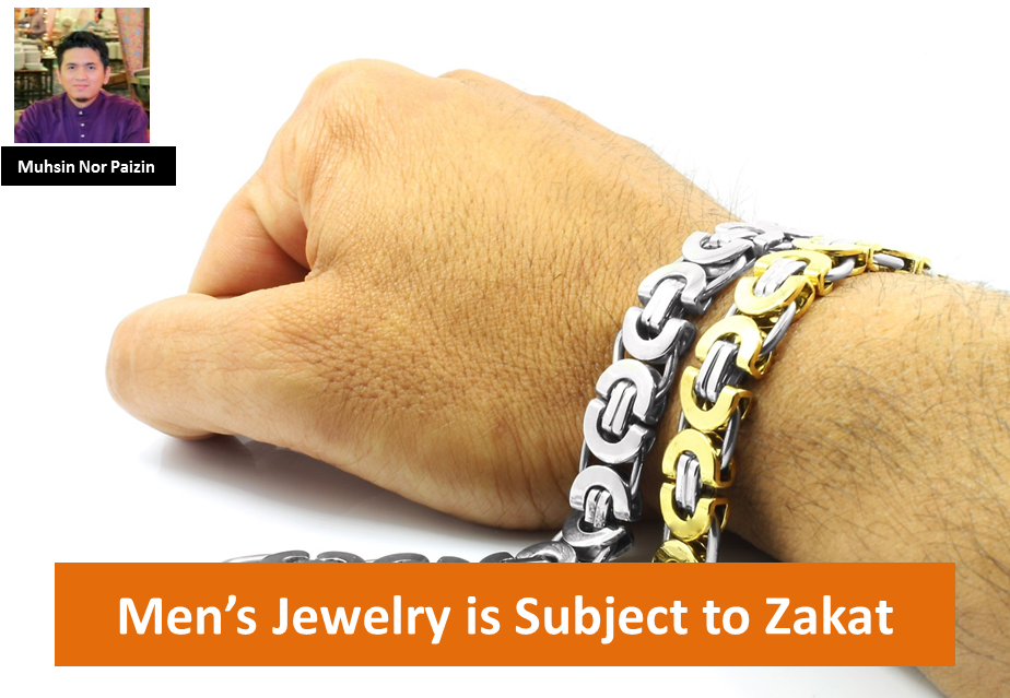 Men's Jewelry is Subject to Zakat