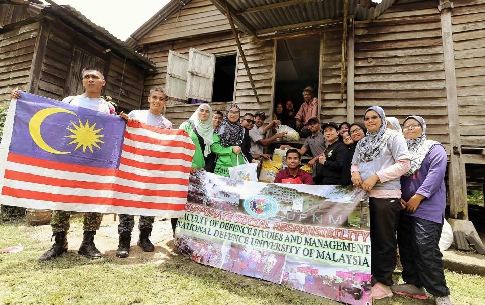 News: CSR in Kampung Sungai Kembong Hilir, Bangi Lama, Selangor,Malaysia.