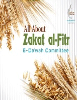E-Book Share: All About Zakat al-Fitr by E-Da'wah Committee.