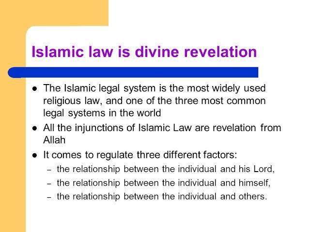 Islamic Systems